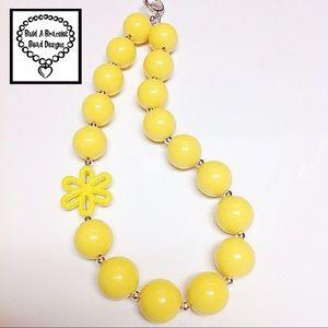 Sunshine ☀️ Solid Flower Necklace